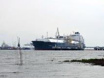 Να επιπλεύσει σκαφών αποθήκευση αερίου, Λιθουανία Στοκ Φωτογραφία