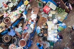 Να επιπλεύσει Amphawa αγορά στο κεντρικό φεστιβάλ Chiangmai Στοκ εικόνες με δικαίωμα ελεύθερης χρήσης