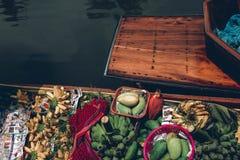 να επιπλεύσει amphawa αγορά Στοκ εικόνα με δικαίωμα ελεύθερης χρήσης