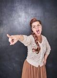 Να επισημάνει δασκάλων κραυγής Στοκ φωτογραφίες με δικαίωμα ελεύθερης χρήσης