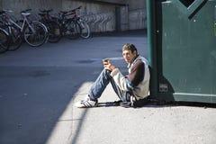 να ικετεύσει τα χρήματα Στοκ Φωτογραφίες