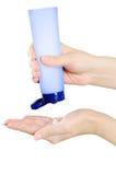 να ισχύσει moisturiser στοκ εικόνες