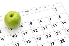 Να κάνει δίαιτα μήλο έννοιας Στοκ Εικόνες