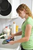 να κάνει πιάτων Στοκ Εικόνες
