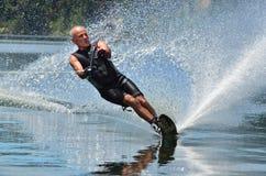 να κάνει σκι αθλητικό ύδωρ Στοκ Εικόνα