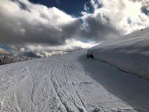 Να κάνει σκι διαδρομή Στοκ Εικόνες