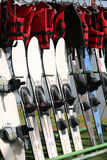 να κάνει σκι εξοπλισμού ύδωρ Στοκ Φωτογραφίες