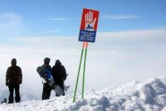 Να κάνει σκι θέρετρο Gudauri στη Γεωργία, Καύκασος Montains Στοκ Φωτογραφία
