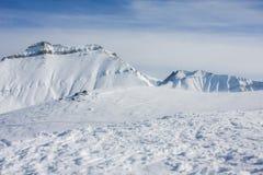 Να κάνει σκι θέρετρο Gudauri στη Γεωργία, Καύκασος Montains Στοκ φωτογραφία με δικαίωμα ελεύθερης χρήσης