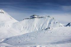 Να κάνει σκι θέρετρο Gudauri στη Γεωργία, Καύκασος Montains Στοκ φωτογραφίες με δικαίωμα ελεύθερης χρήσης