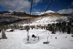 να κάνει σκι θερέτρου στοκ φωτογραφία με δικαίωμα ελεύθερης χρήσης