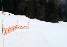 Να κάνει σκι διαδρομή - πηγαίνετε δεξιά Στοκ Φωτογραφία