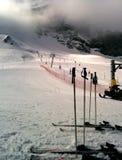 Να κάνει σκι διαδρομή Στοκ εικόνες με δικαίωμα ελεύθερης χρήσης