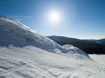Να κάνει σκι διαδρομή Στοκ Φωτογραφία