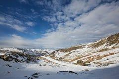 Να κάνει σκι και στα όρη Στοκ εικόνα με δικαίωμα ελεύθερης χρήσης