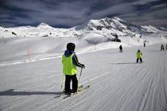 να κάνει σκι κλίση Στοκ φωτογραφία με δικαίωμα ελεύθερης χρήσης