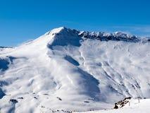 Να κάνει σκι περιοχή Στοκ φωτογραφία με δικαίωμα ελεύθερης χρήσης