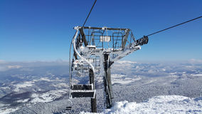 Να κάνει σκι σκηνή Στοκ φωτογραφία με δικαίωμα ελεύθερης χρήσης