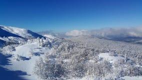 Να κάνει σκι σκηνή Στοκ εικόνα με δικαίωμα ελεύθερης χρήσης