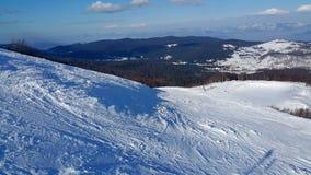 Να κάνει σκι σκηνή Στοκ Εικόνα