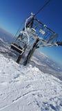 Να κάνει σκι σκηνή Στοκ Εικόνες