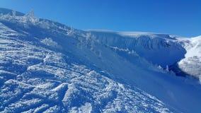 Να κάνει σκι σκηνή Στοκ εικόνες με δικαίωμα ελεύθερης χρήσης