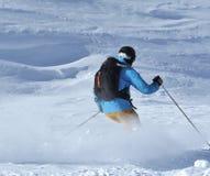 να κάνει σκι σκονών Στοκ Φωτογραφία