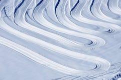 να κάνει σκι χωρών ορών διαγώνιες κλίσεις Στοκ Εικόνα