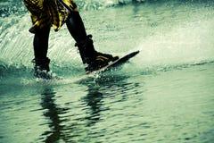 να κάνει σκι ύδωρ Στοκ Φωτογραφίες