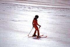 να κάνει σκι Στοκ Φωτογραφία