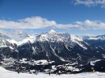 να κάνει σκι lenzerheide Στοκ φωτογραφία με δικαίωμα ελεύθερης χρήσης