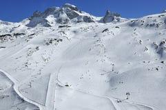 να κάνει σκι zermatt Στοκ φωτογραφίες με δικαίωμα ελεύθερης χρήσης