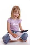 να κάνει την εργασία κοριτσιών στοκ εικόνες