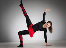 να κάνει τη γυμναστική κορ Στοκ Φωτογραφίες