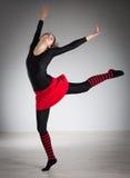να κάνει τη γυμναστική κορ Στοκ Φωτογραφία