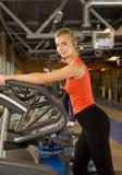 να κάνει τη γυναίκα άσκησης Στοκ Φωτογραφία