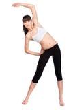 να κάνει τη γυναίκα άσκηση&sig Στοκ εικόνες με δικαίωμα ελεύθερης χρήσης