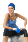 να κάνει τη γυναίκα ικανότητας άσκησης Στοκ φωτογραφία με δικαίωμα ελεύθερης χρήσης