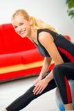 να κάνει τη γυναίκα ικανότητας ασκήσεων στοκ φωτογραφία με δικαίωμα ελεύθερης χρήσης