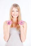 να κάνει τη γυναίκα ικανότη& Στοκ φωτογραφίες με δικαίωμα ελεύθερης χρήσης