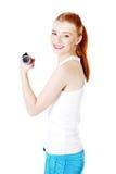 να κάνει τον έφηβο κοριτσ&iot Στοκ Εικόνες