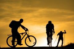 να κάνει τον αθλητισμό ανθρώπων Στοκ Εικόνα