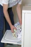 να κάνει το αρσενικό πλυν&ta Στοκ Εικόνα