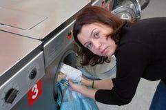 να κάνει το πλυντήριο Στοκ Εικόνα