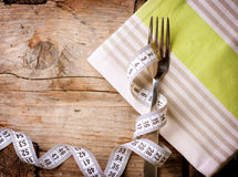 να κάνει δίαιτα σιτηρεσίου έννοιας Στοκ Εικόνα