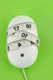 να κάνει δίαιτα on-line Στοκ Εικόνες