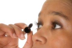 να κάνει eyelashes Στοκ εικόνες με δικαίωμα ελεύθερης χρήσης