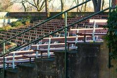 Να καθίσει το υπαίθριο στάδιο της πόλης Zons Στοκ φωτογραφία με δικαίωμα ελεύθερης χρήσης