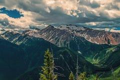 Να κοιτάξει έξω από την κορυφογραμμή Stanton Στοκ Εικόνες