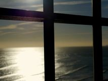 Να κοιτάξει έξω πέρα από την ακτή του Κεντ Στοκ φωτογραφία με δικαίωμα ελεύθερης χρήσης